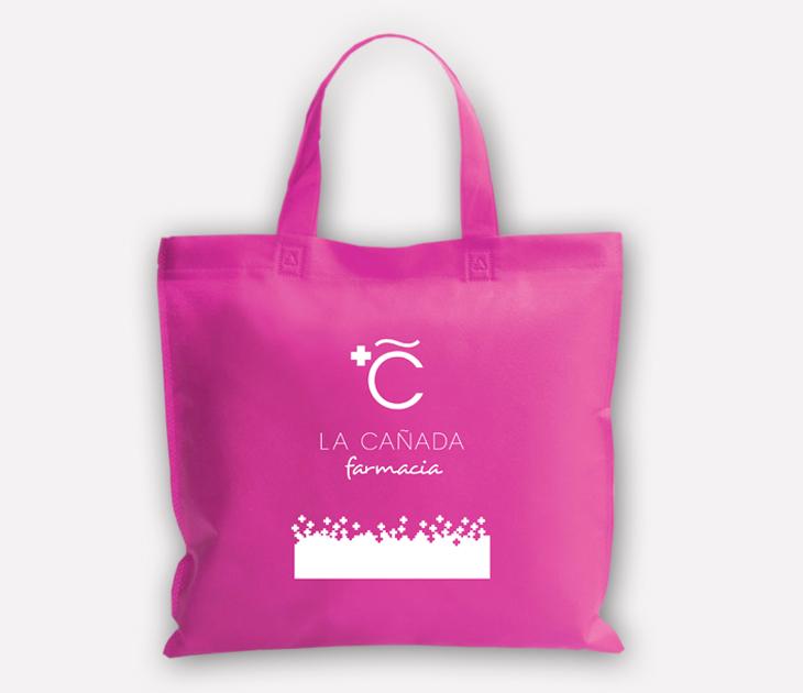 Bolsa de algodón Farmacia La Cañada