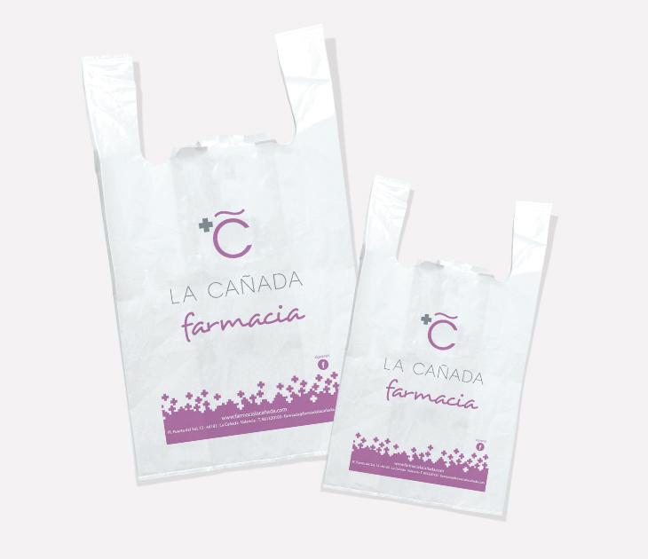 Bolsas plástico Farmacia La Cañada