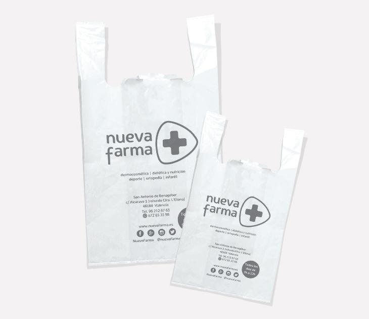 Bolsas plástico de Nuevafarma