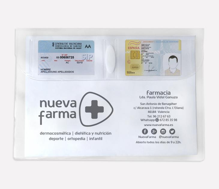 Funda receta electrónica Nuevafarma