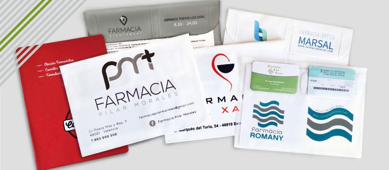Fundas de recetas electrónicas farmacias personalizadas